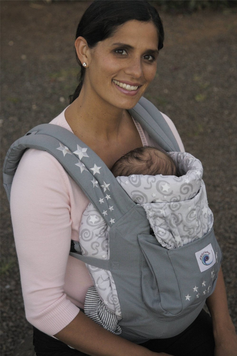 Ergobaby Original Heart 2 Heart Infant Insert Galaxy Grey Discontinued By Manufacturer